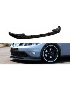 Honda Civic 09+ Facelift Front Lip ABS Gloss Black