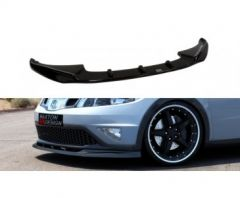 Honda Civic 09+ Facelift Front Lip ABS Gloss Black